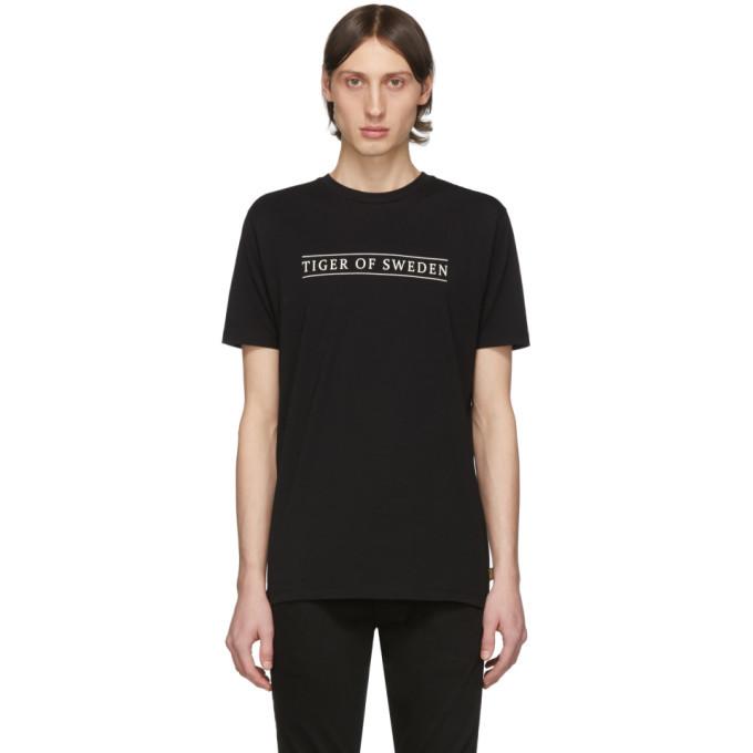 Photo: Tiger of Sweden Jeans Black Fleek Logo T-Shirt
