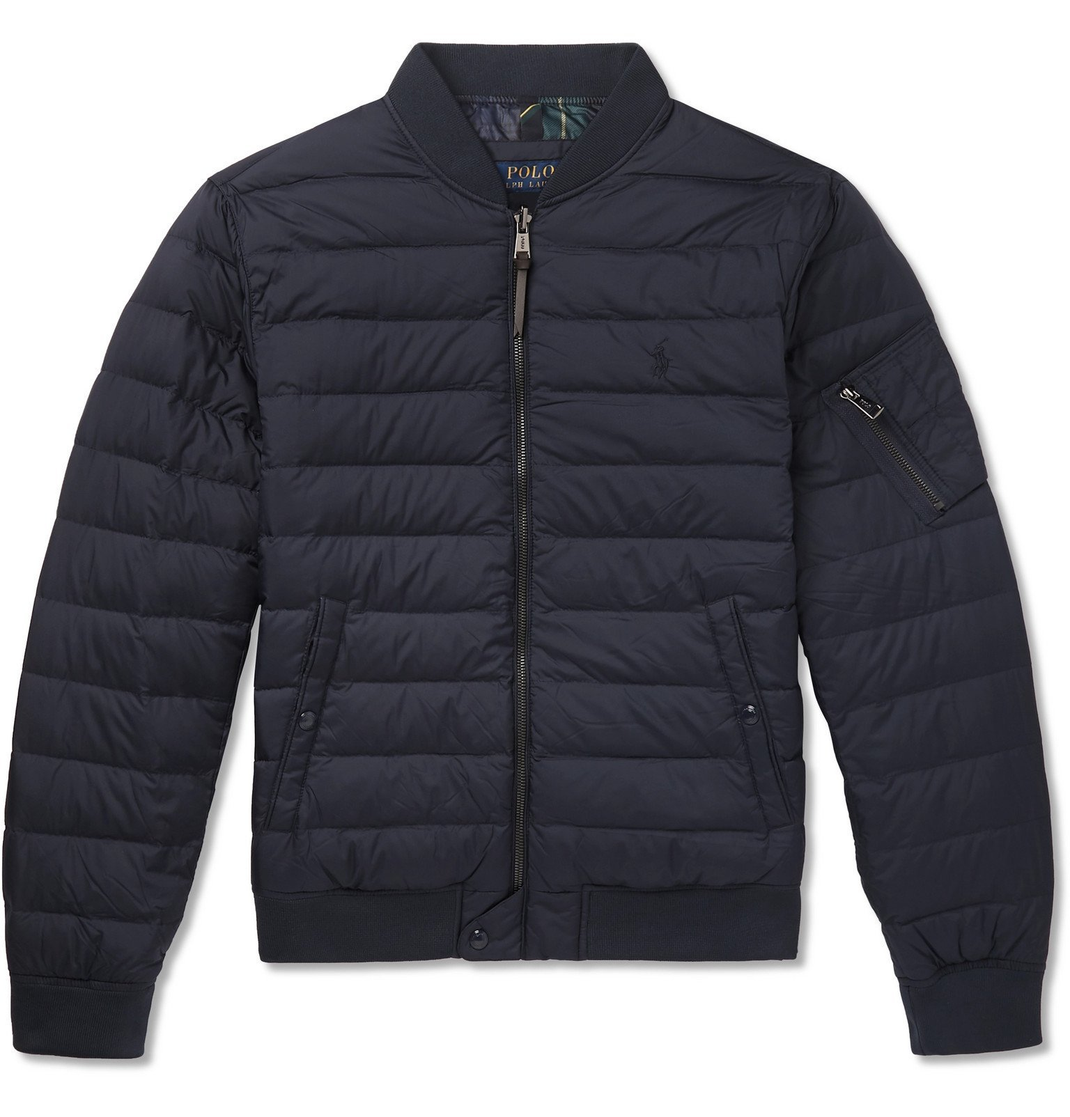 Photo: Polo Ralph Lauren - Quilted Shell Down Jacket - Blue