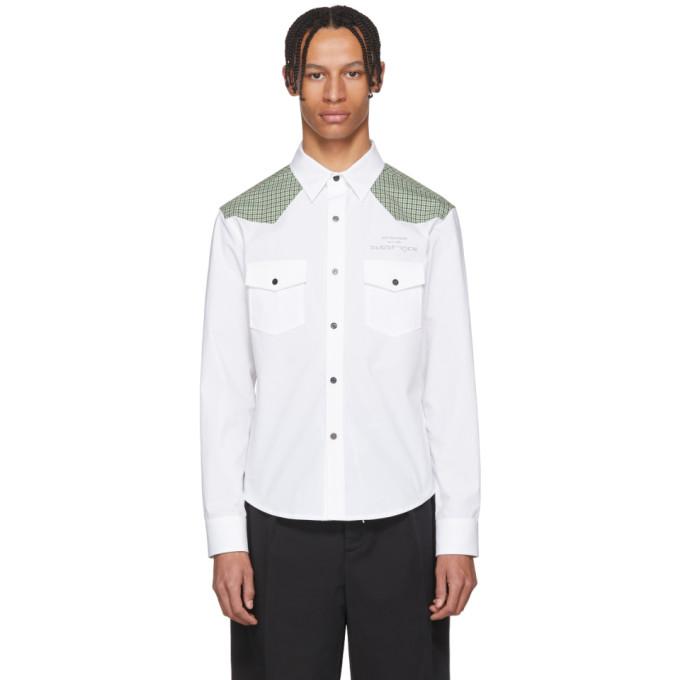 Raf Simons White Joy Division Substance Shirt