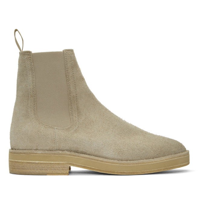 Photo: YEEZY Taupe Chelsea Boots
