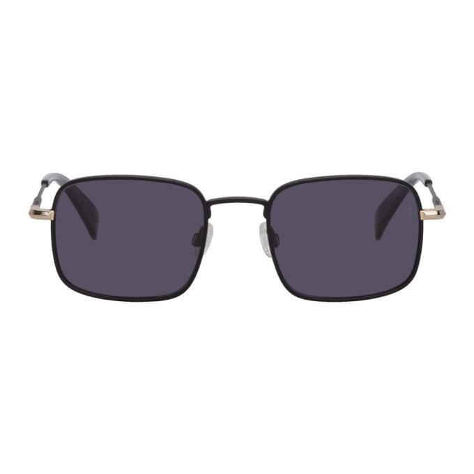 Photo: rag and bone Black and Gold RNB5023 Sunglasses