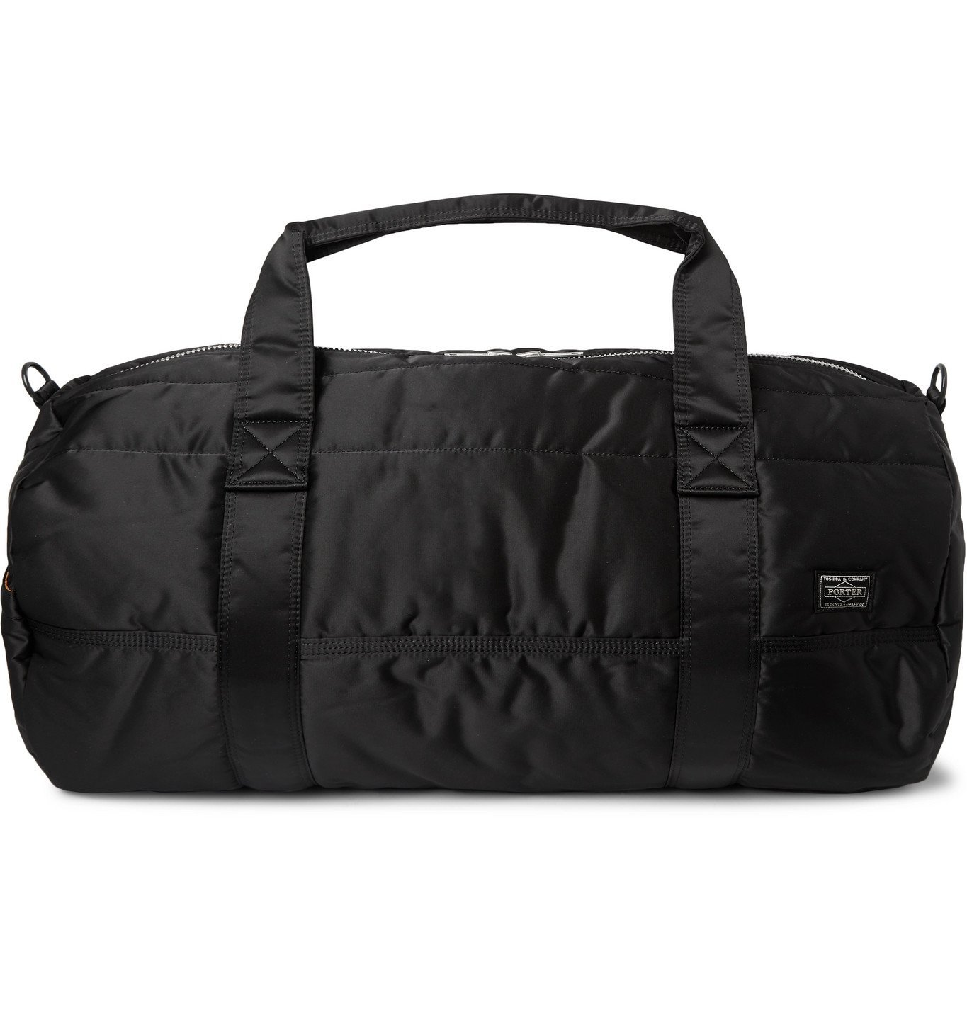 Photo: Porter-Yoshida & Co - Tanker 2Way Boston Nylon Duffle Bag - Black