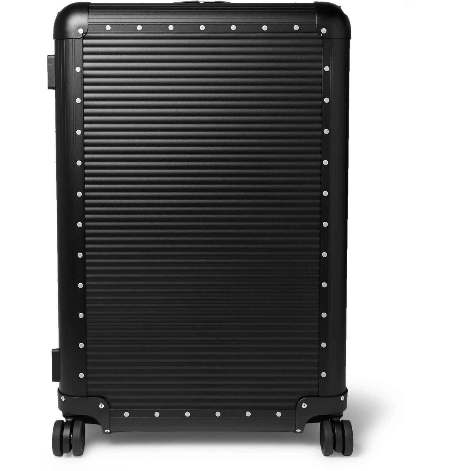 Photo: Fabbrica Pelletterie Milano - Spinner 76cm Aluminium Suitcase - Black