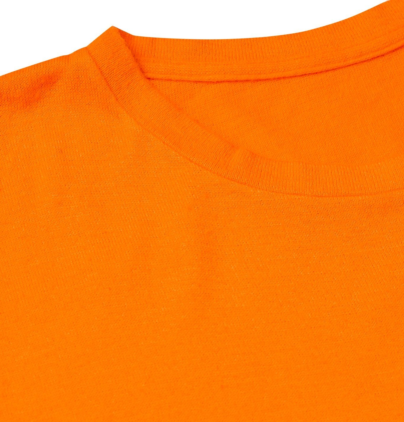 The Elder Statesman - Printed Cotton and Cashmere-Blend Jersey T-Shirt - Orange