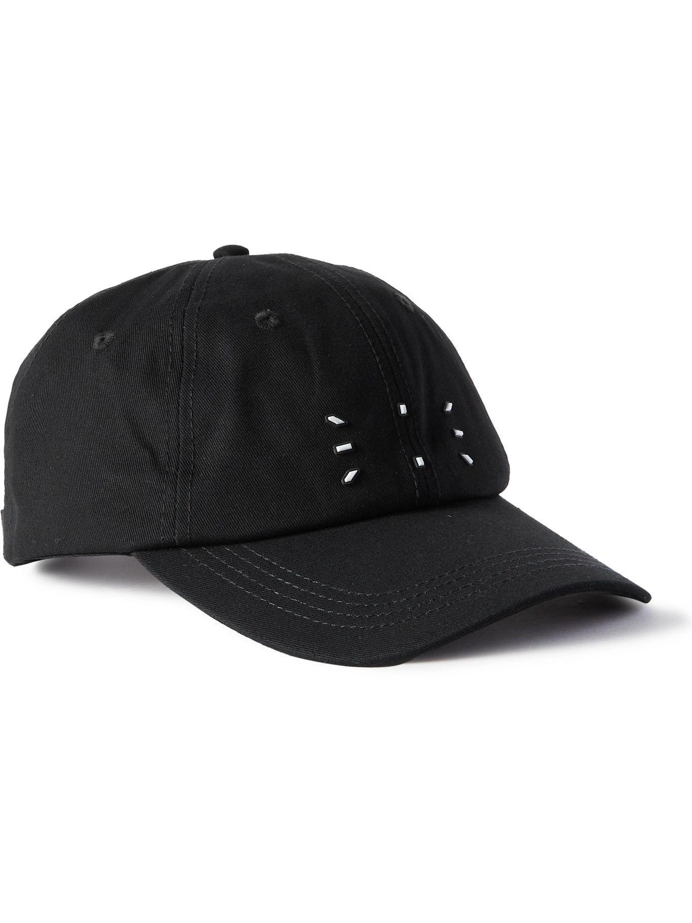 Photo: MCQ - Logo-Appliquéd Cotton-Twill Baseball Cap