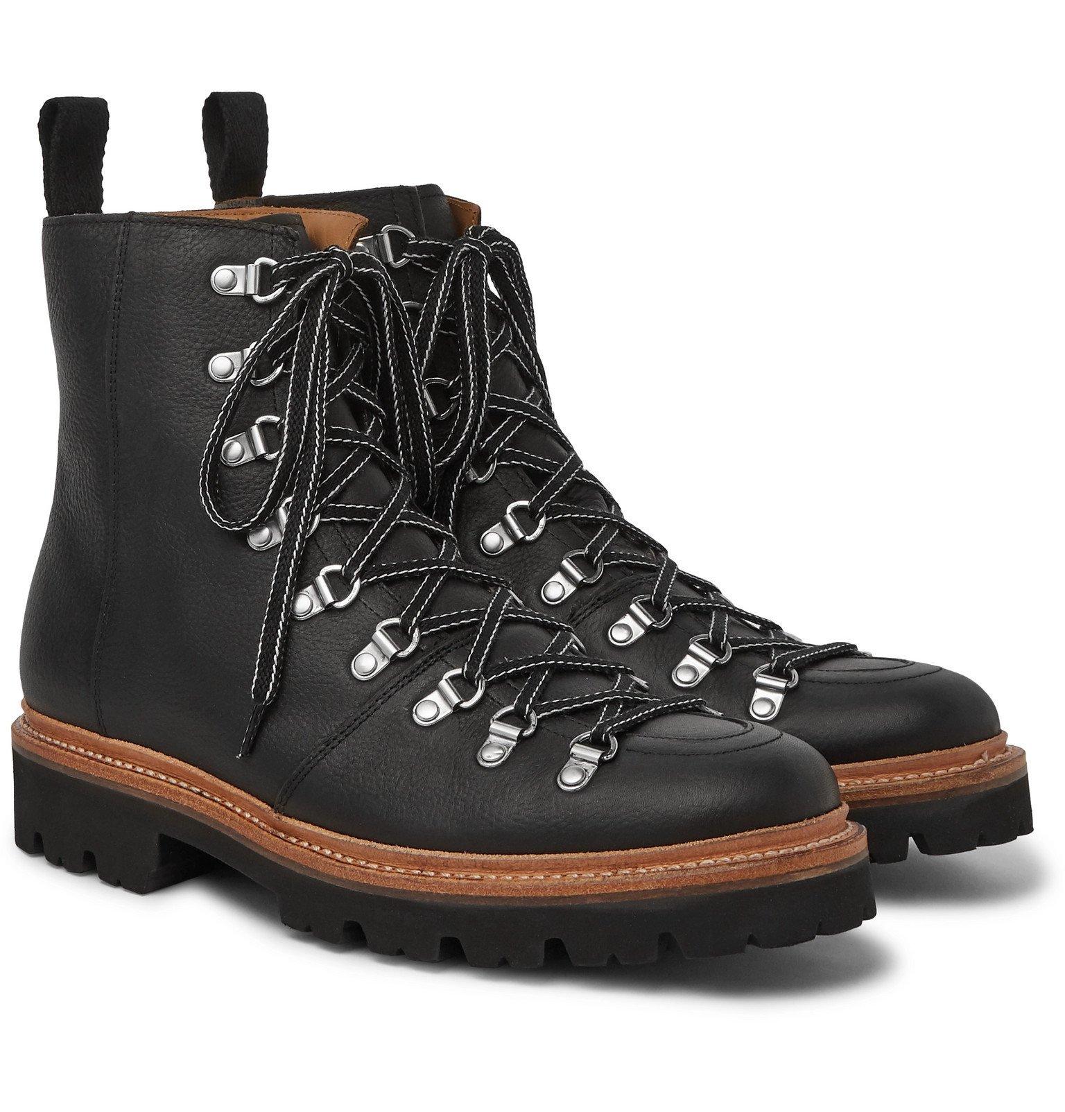 Photo: Grenson - Brady Full-Grain Leather Boots - Black