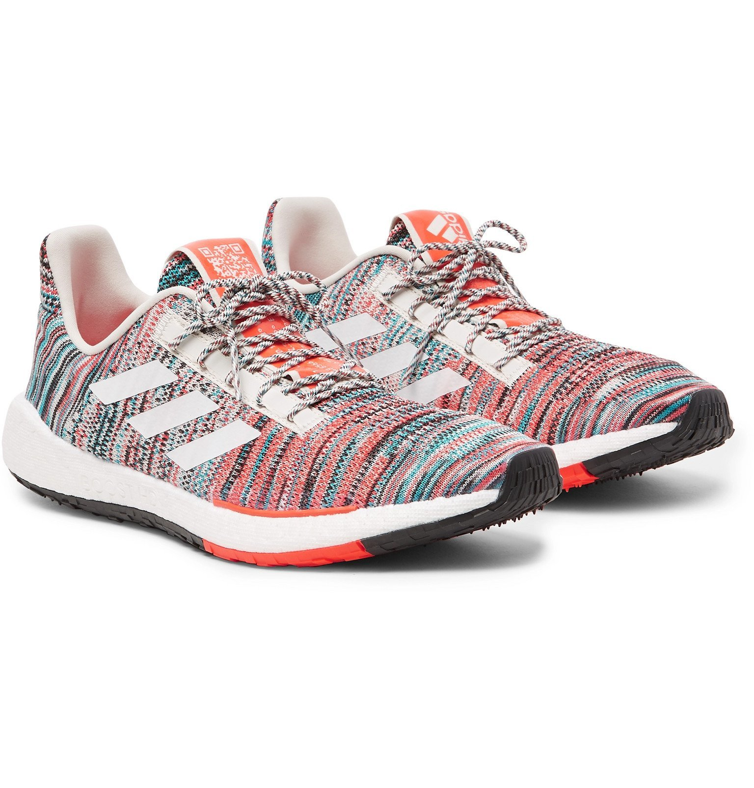 Photo: adidas Consortium - Missoni PulseBOOST HD Stretch-Knit Sneakers - Multi