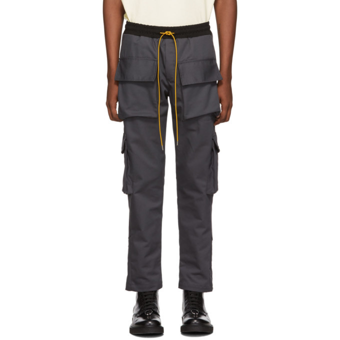 Photo: Rhude Grey Twill Cargo Pants