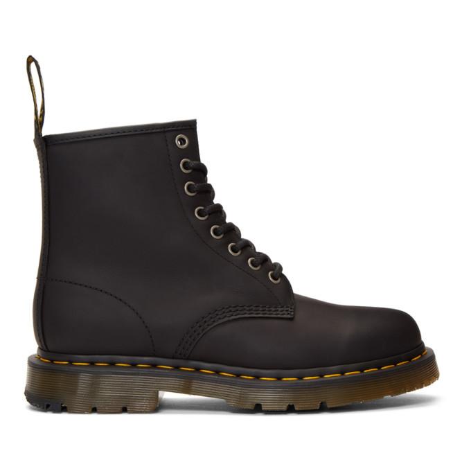 Photo: Dr. Martens Black Wintergrip 1460 Boots