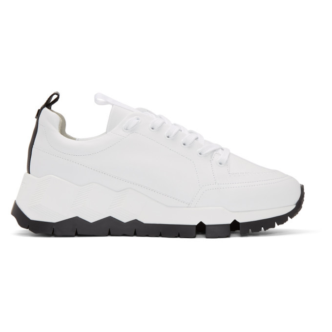 Photo: Pierre Hardy White and Black Street Life Sneakers