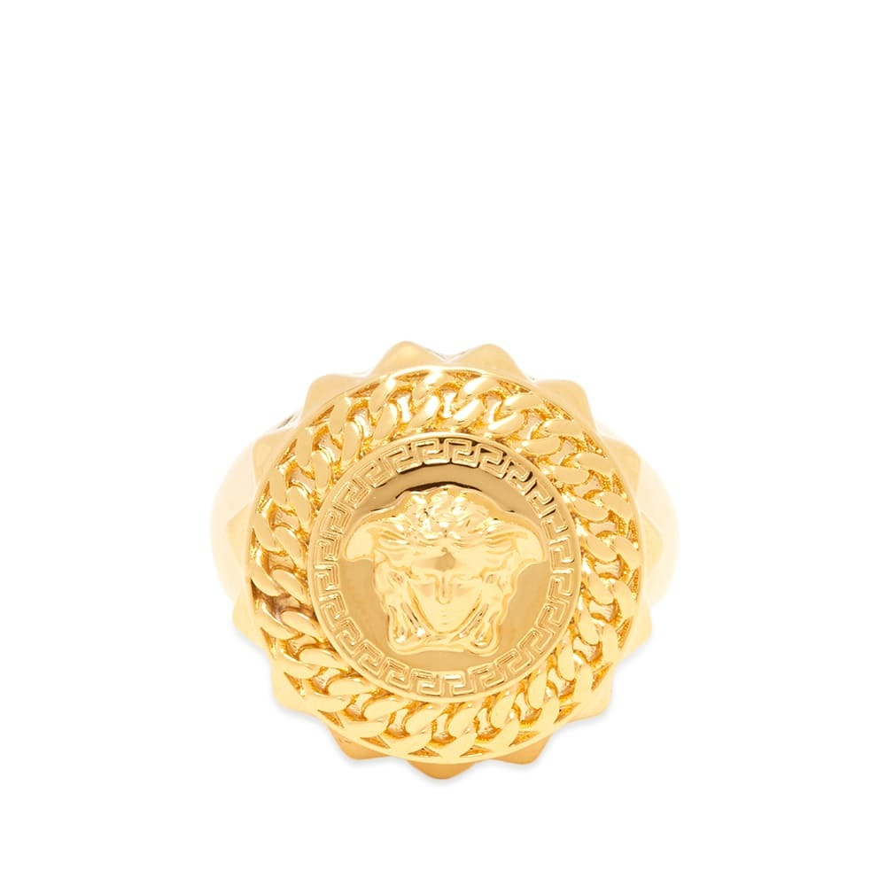 Photo: Versace Medusa Head Sovereign Ring