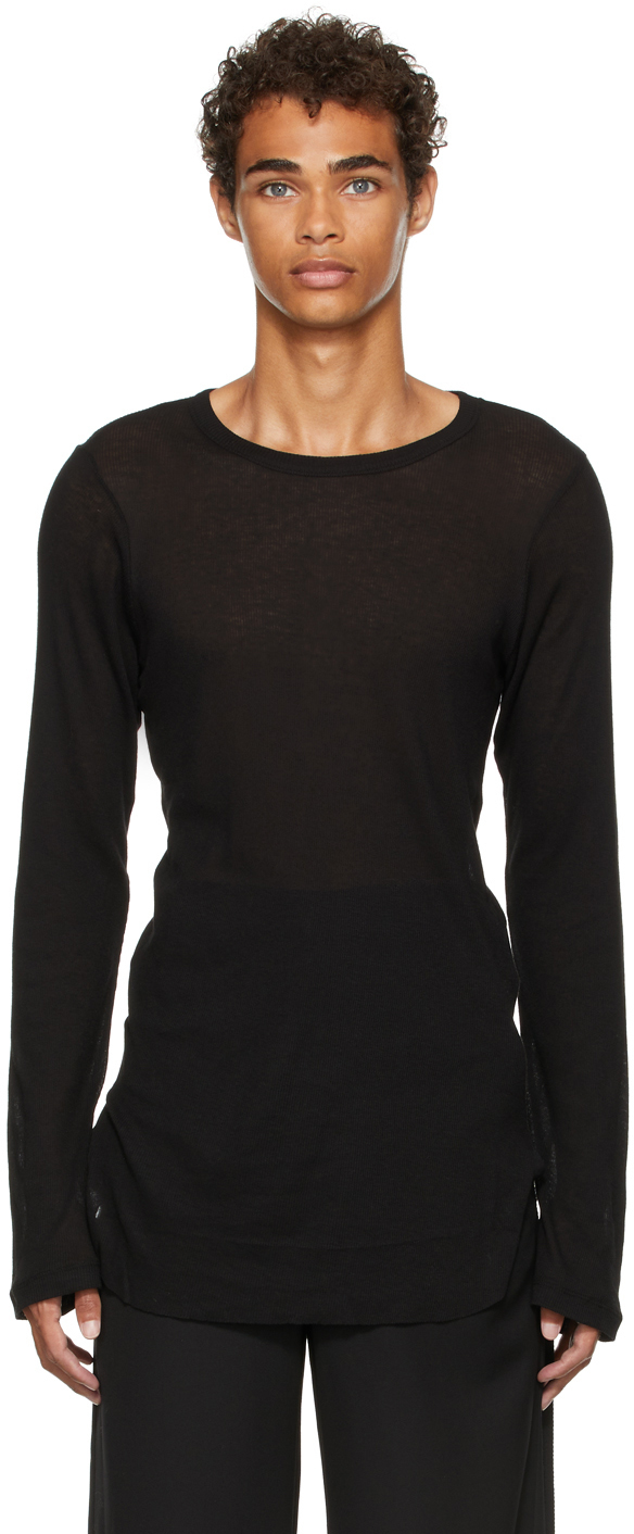 Photo: Ann Demeulemeester Denis Long Sleeve T-Shirt