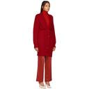 Nina Ricci Red Soft Mohair Cardigan