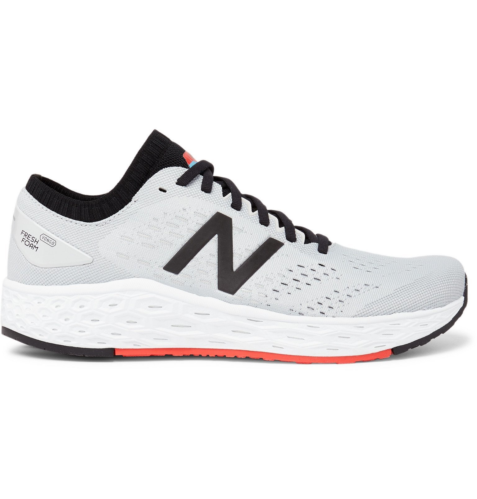 Photo: New Balance - Fresh Foam Vongo v4 Mesh Running Sneakers - Gray