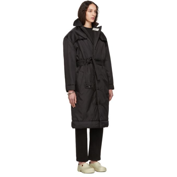032c Black Cosmic Workshop Over Coat