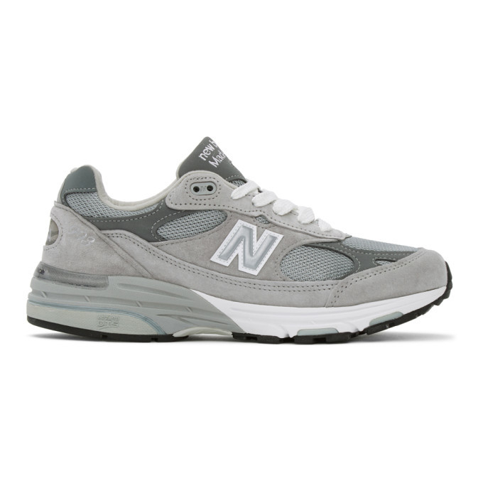 Photo: New Balance Blue and Grey Made In UK 920 Sneakers