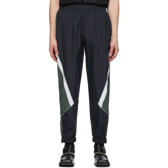 Photo: Martine Rose Navy Panelled Lounge Pants