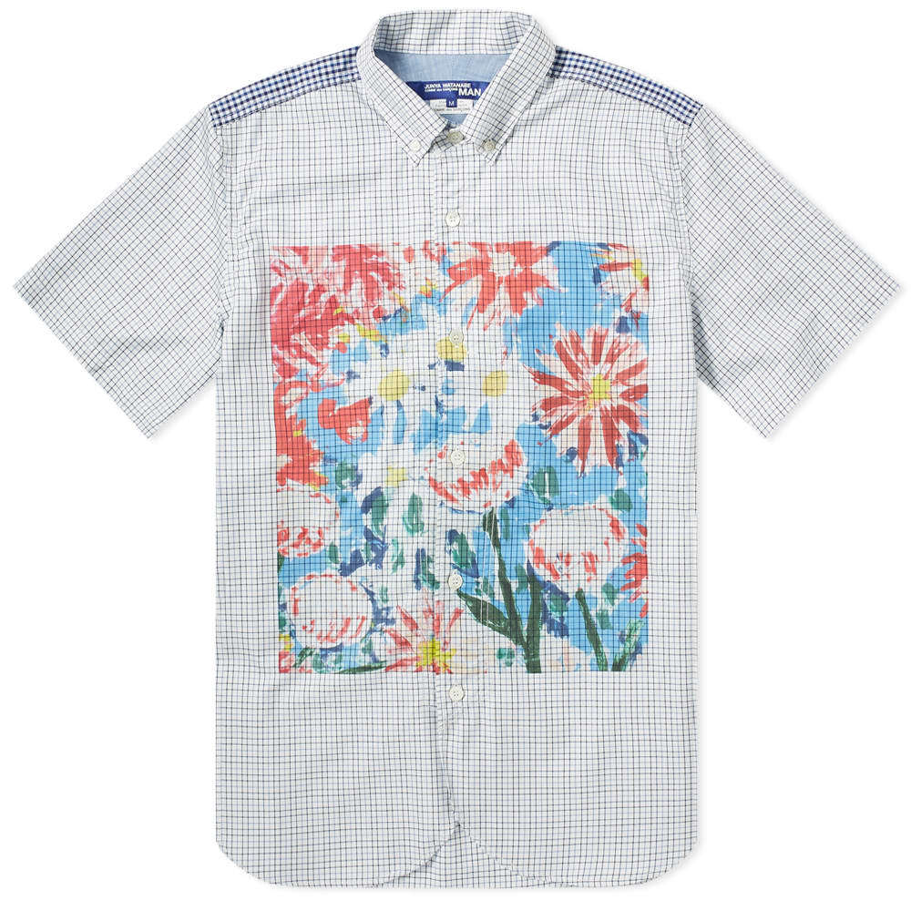 Photo: Junya Watanabe MAN Short Sleeve Floral Print Shirt