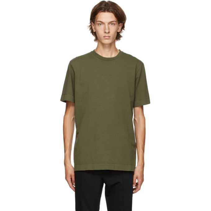 Photo: 1017 ALYX 9SM Green A Sphere Logo T-Shirt