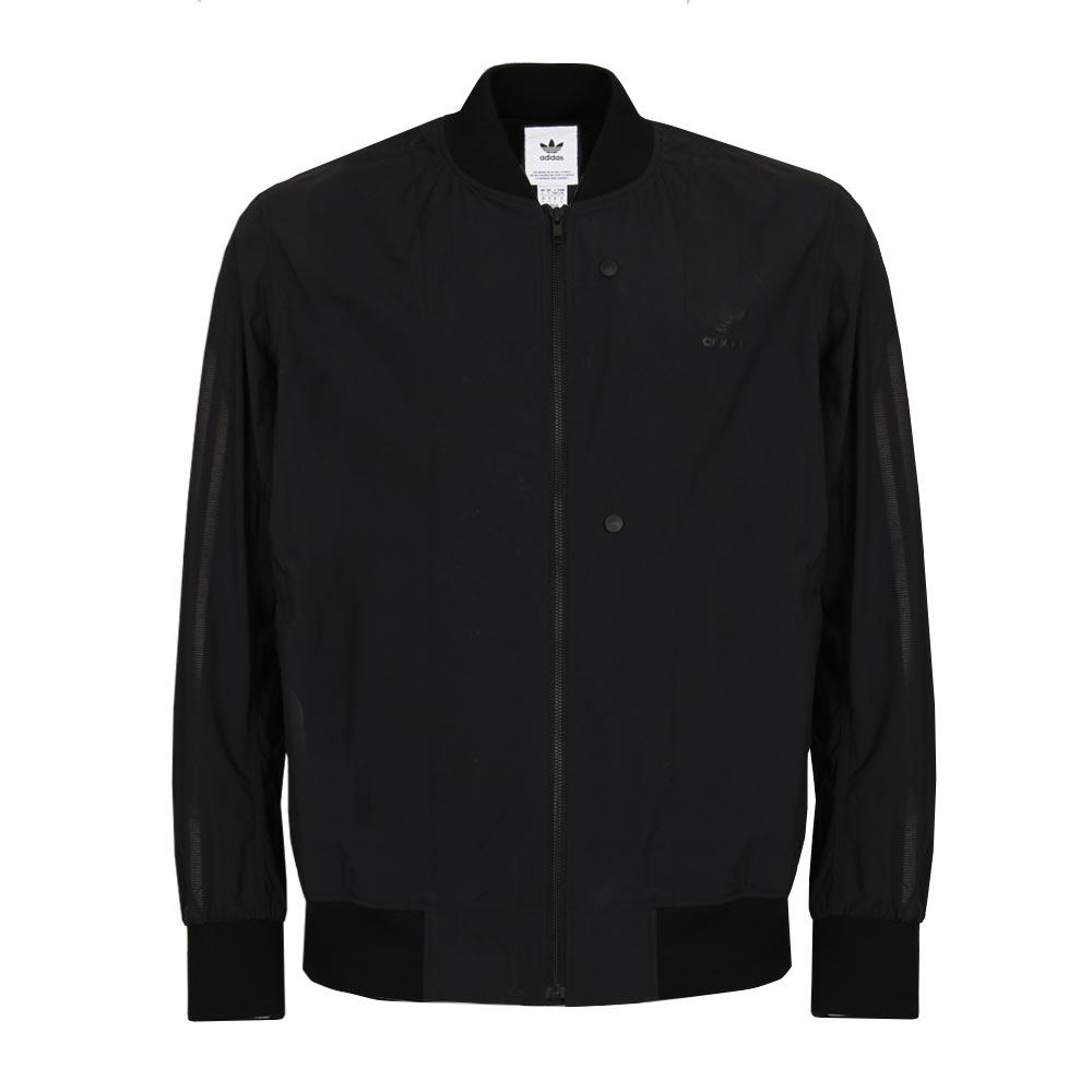 Track Top - Deluxe Woven Black