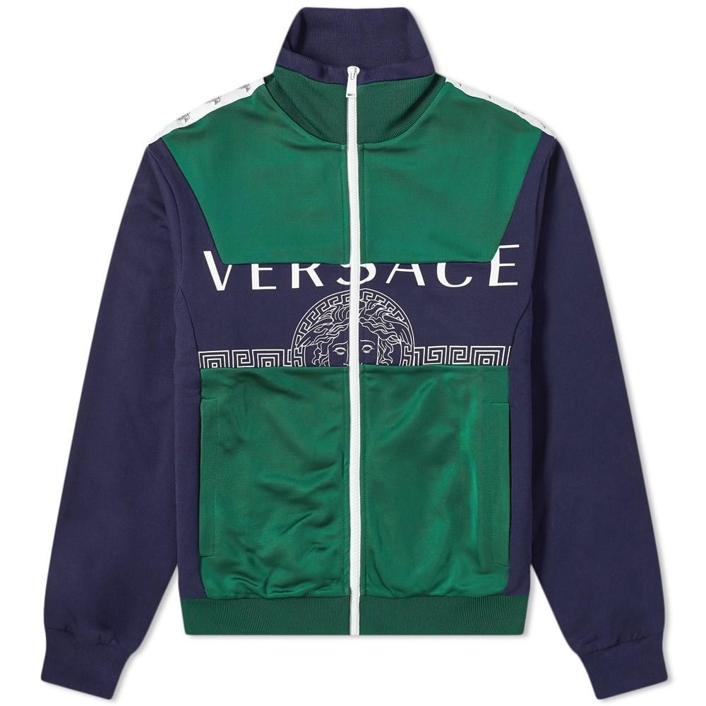 Photo: Versace Panel Logo Track Jacket