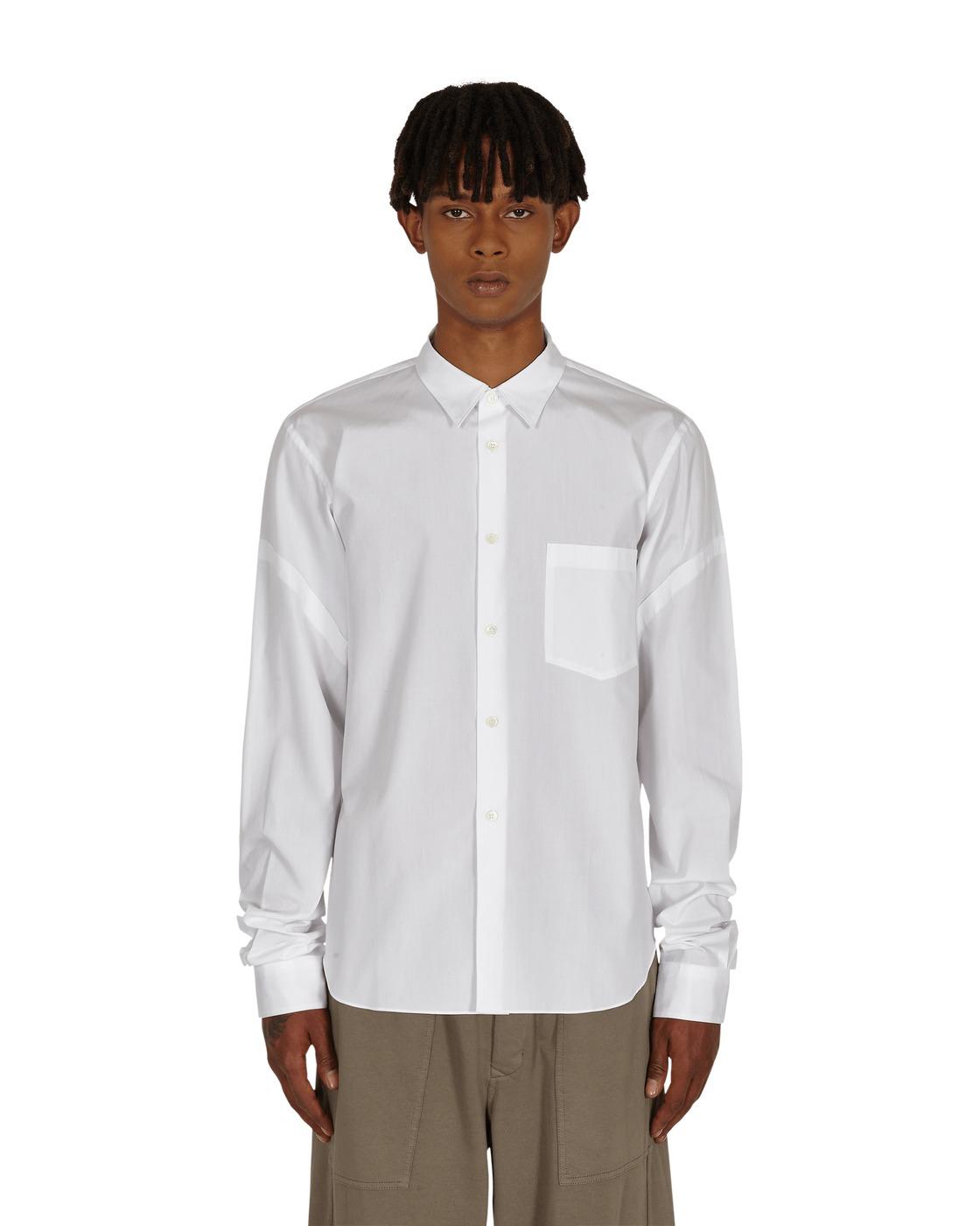 Photo: Comme Des Garcons Homme Plus Shirt White