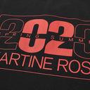 Martine Rose Jacquard Logo Polo