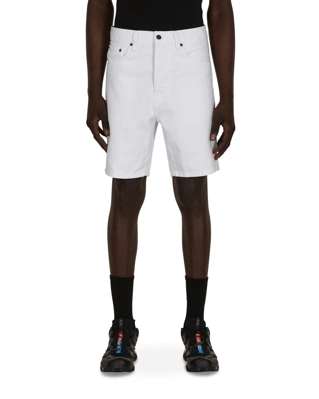 Photo: Carhartt Wip Newel Shorts White