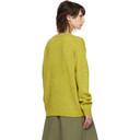 Acne Studios Yellow Samara Sweater