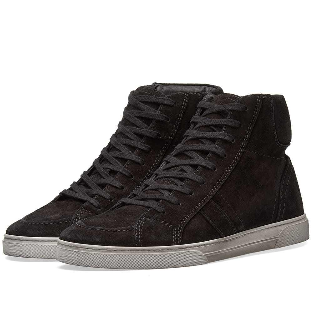 Photo: Saint Laurent Joe Distressed High Sneaker