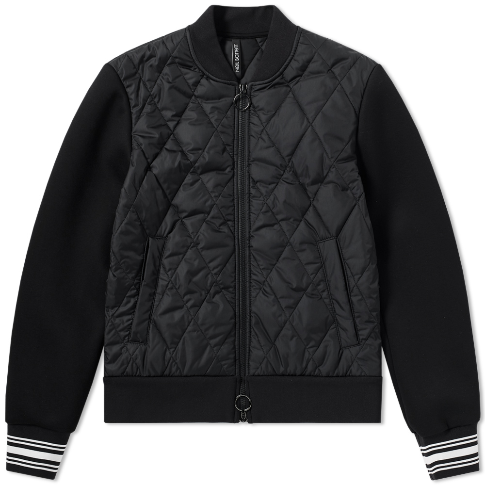 Photo: Neil Barrett Quilted Varsity Jacket