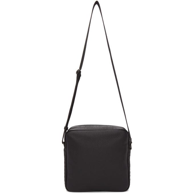 Photo: Bottega Veneta Black Crossbody Bag