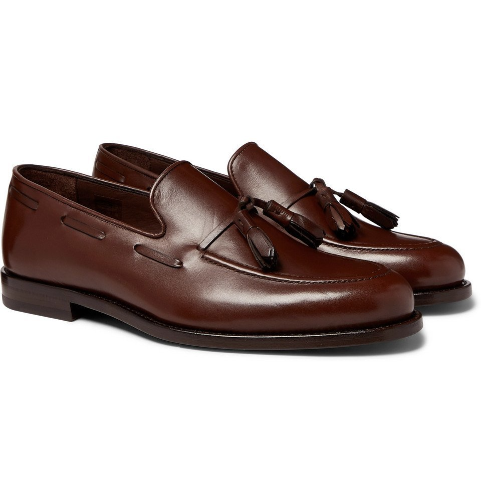 Photo: Paul Smith - Larry Leather Tasselled Loafers - Brown