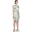 Nina Ricci Blue Silk Wrap Dress