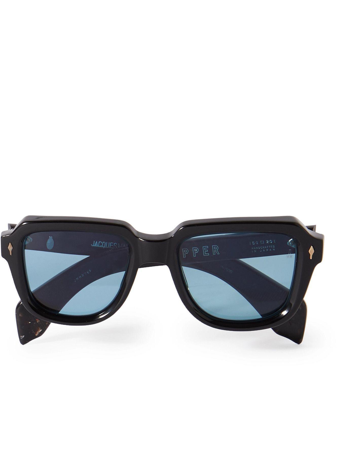 Photo: Jacques Marie Mage - Taos Square-Frame Acetate Sunglasses