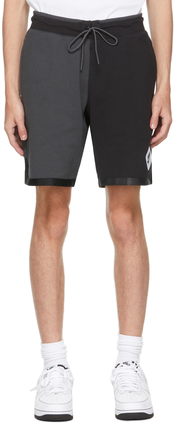 Photo: Nike Jordan Black & Grey Jumpman Classics Shorts