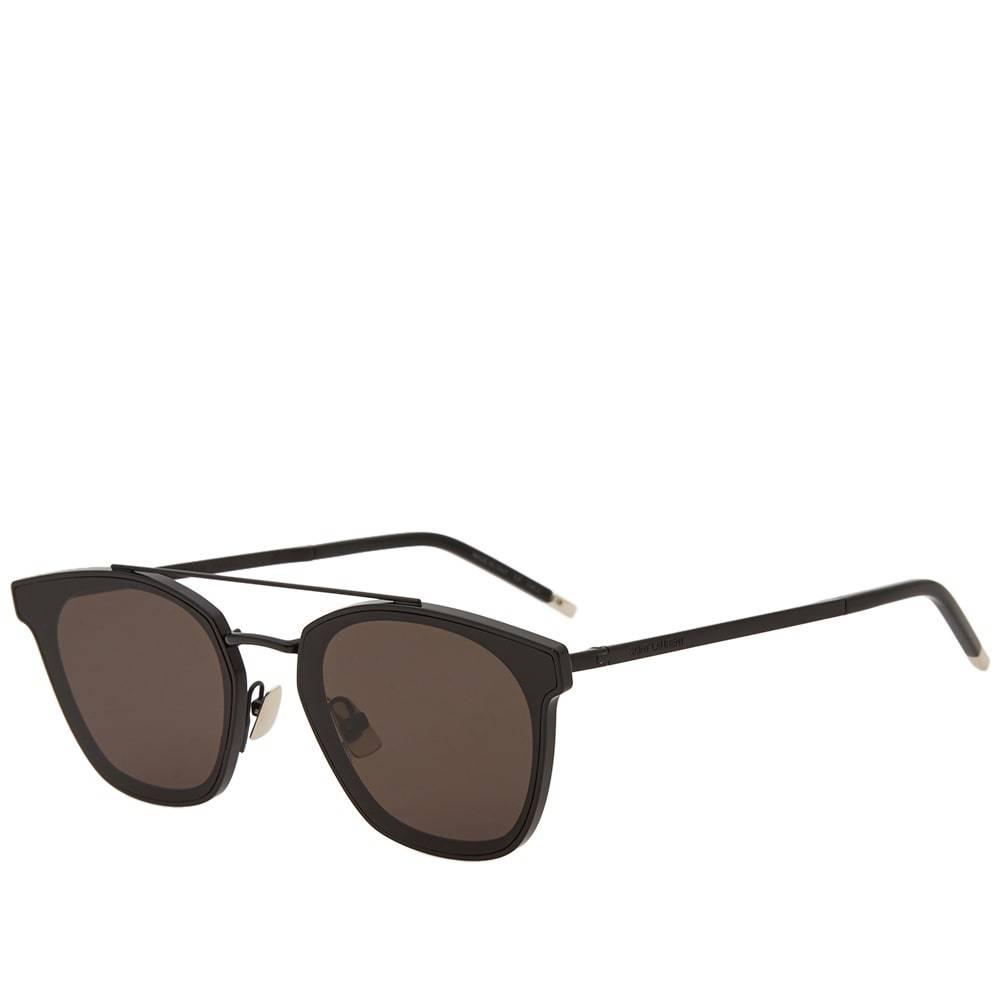 Photo: Saint Laurent SL 28 Metal Sunglasses