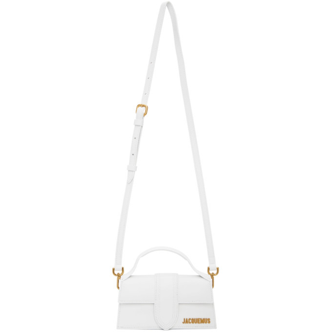 Photo: Jacquemus White Le Bambino Top Handle Bag