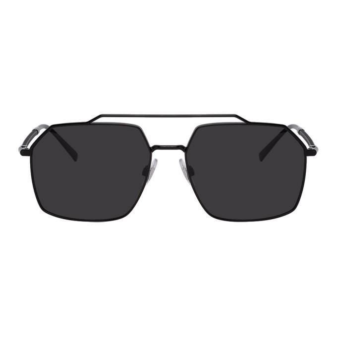 Photo: Dolce and Gabbana Black Gros Grain Sunglasses