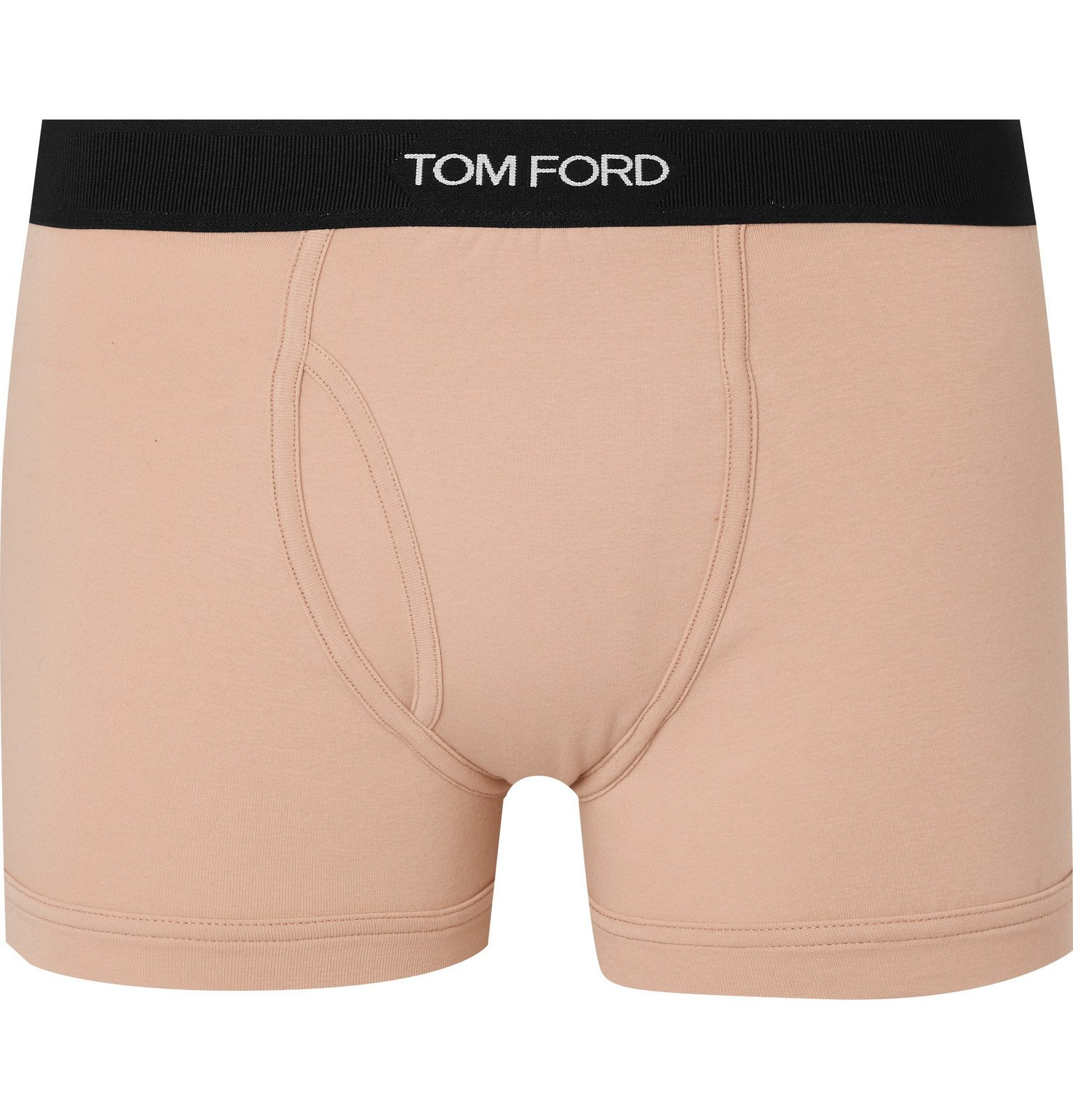 Photo: TOM FORD - Stretch-Cotton Boxer Briefs - Neutrals