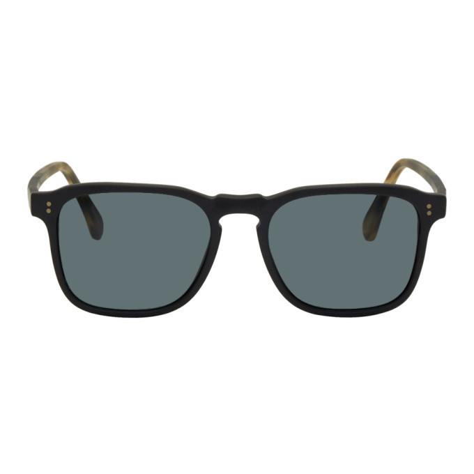 Photo: RAEN Black and Tortoiseshell Wiley Sunglasses