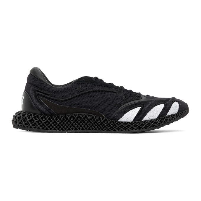 Photo: Y-3 Black Runner 4D Sneakers