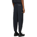 3.1 Phillip Lim Navy and White Wool Pinstripe Cargo Pants