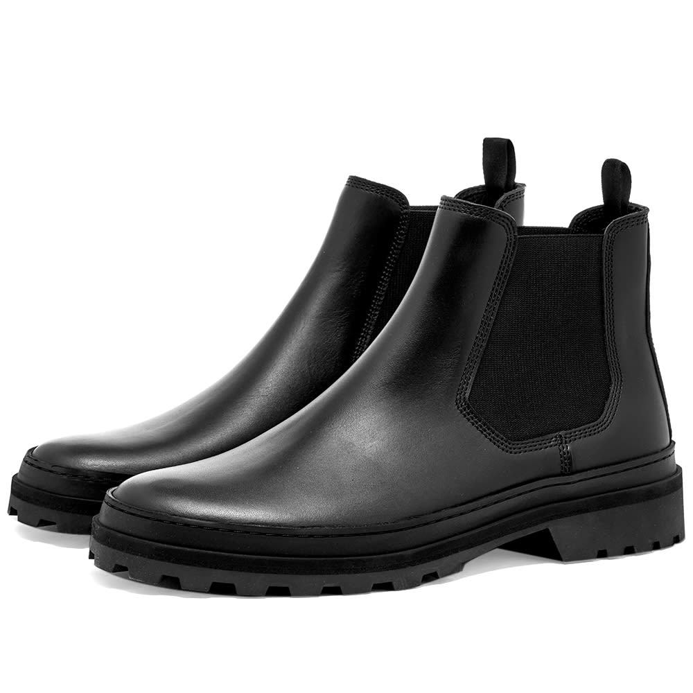 Photo: A.P.C. Cali Lug Sole Chelsea Boot