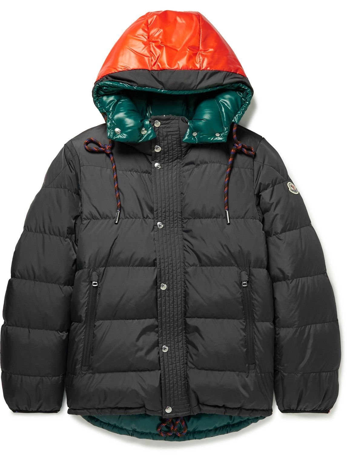 Photo: Moncler - Etievant Slim-Fit Reversible Quilted Shell Hooded Down Jacket - Gray