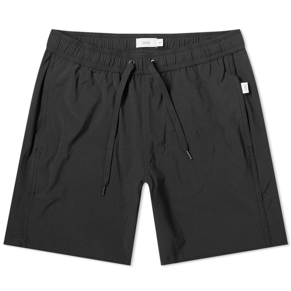 "Photo: Onia Charles 7"" Solid Swim Short"