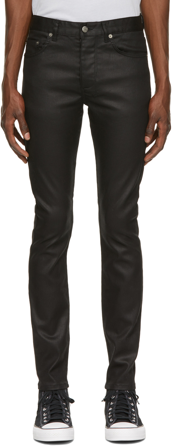 Photo: Ksubi Black Waxed Chitch Jeans