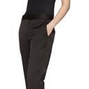 3.1 Phillip Lim Black Satin Structured Trousers