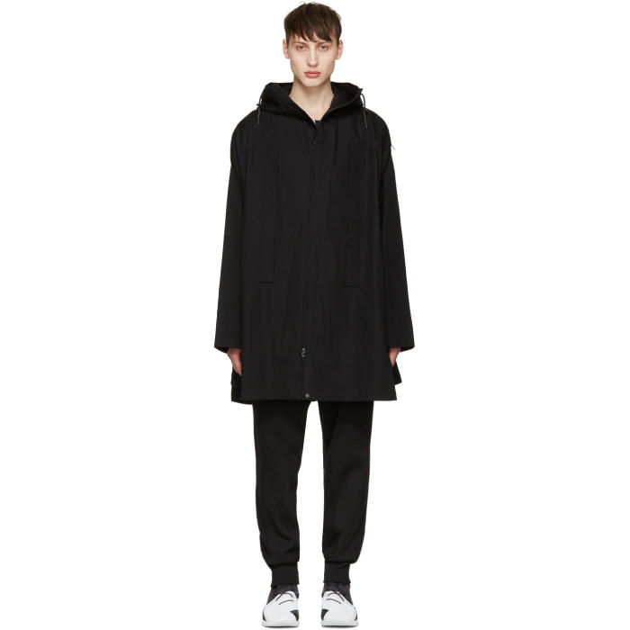 Photo: Y-3 Black Layered Poncho