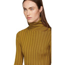Acne Studios Tan Fitted Turtleneck